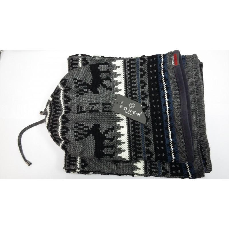 Комплект Fonem зимний шапка и шарф   - фото 1